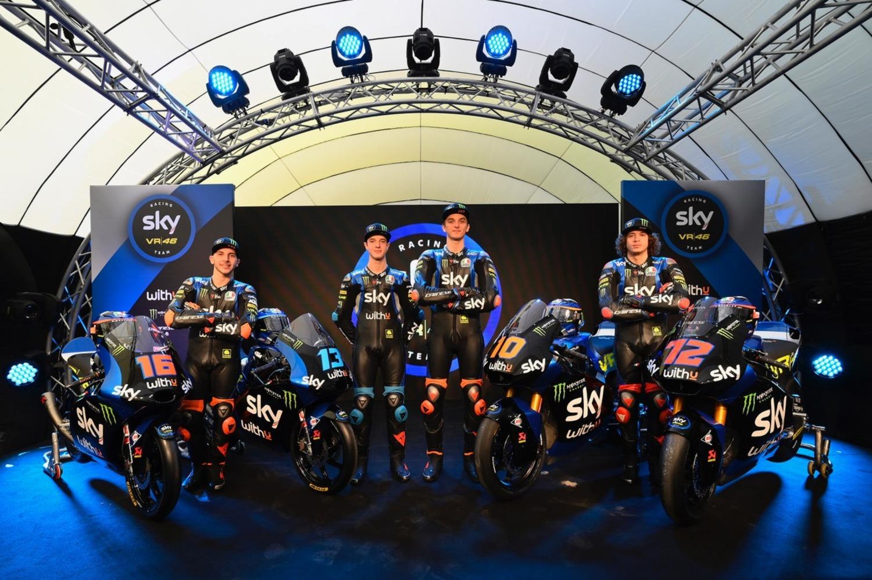 Moto2 e Moto3: la presentazione dello 'Sky Racing Team VR46' 2020