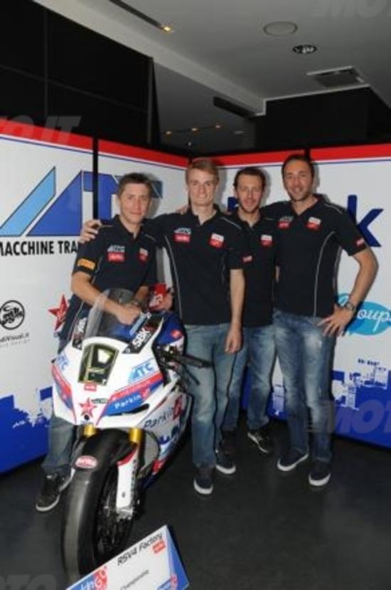 Superbike. Presentato a Milano il ParkinGO Team MTC Racing