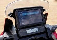 Honda Africa Twin: ecco com'è il simulatore della dashboard