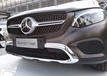 Mercedes svela GLC Coupé in Italia: prime consegne in autunno