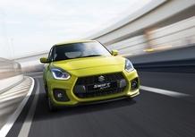 La Suzuki Swift Sport diventa ibrida: 130 CV e boost elettrico