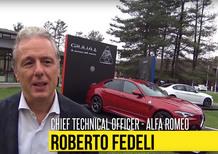 """Roberto Fedeli, CTO Alfa Romeo: """"La Giulia è diversa dalle tedesche"""""""