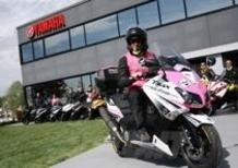 Yamaha TMax 530 Giro d'Italia: la prima tappa prende il via