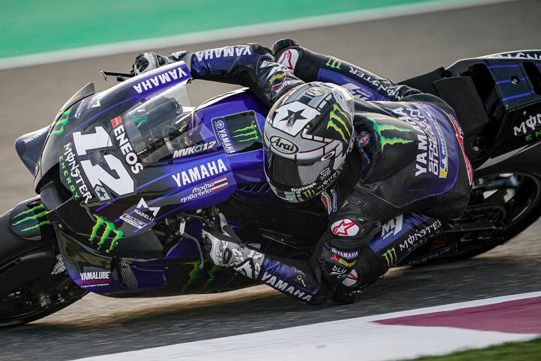 MotoGP. Test in Qatar, terza giornata: Vinales, il migliore