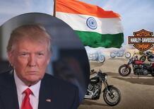 Trump chiede all'India di ridurre i dazi sulle Harley-Davidson