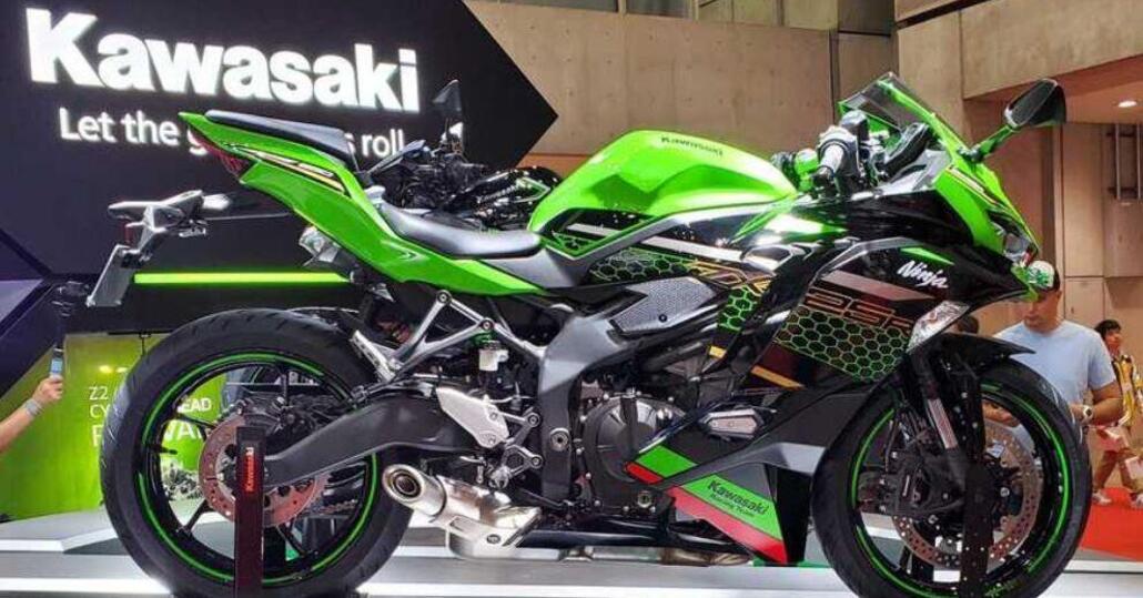 Kawasaki ZX-25R 2020, sportiva 4 cilindri di 250 cc