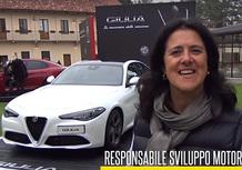Maria Grazia Lisbona, Responsabile Diesel Alfa Romeo: Motore all'altezza della nostra storia