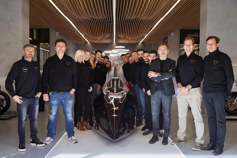 Max Biaggi: punta al record di velocità su una moto elettrica