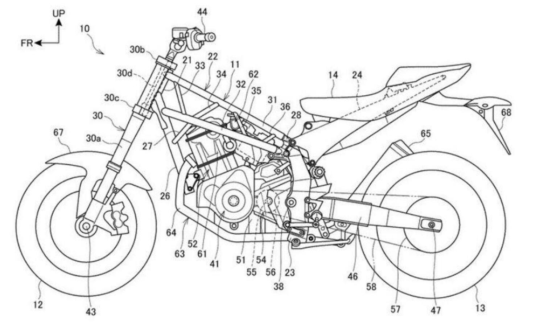 Nuove Honda stradali con il motore della Africa Twin 1100?