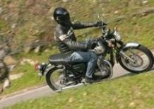 Kawasaki W 800, accensione spia FI