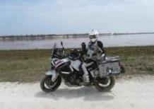 Davide Biga e il suo Yamaha Super Ténéré di ritorno in Italia