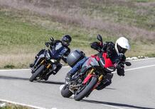 BMW F900XR vs Yamaha Tracer 900GT: TEST crossover 2020, sfida aperta