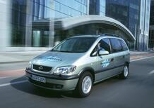 Opel Zafira HydroGen1, 20 anni fa già ad idrogeno