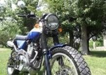 Le Strane di Moto.it. Special Honda SLR 650 scrambler