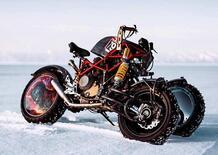 Balamutti Yundo: l'Hypermotard Ducati a tre ruote