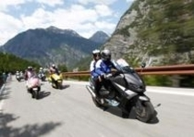 Yamaha TMAX e Ben Spies al Giro d'Italia tagliano per primi il traguardo