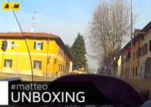 L'Unboxing di Matteo: Suzuki Burgman 400