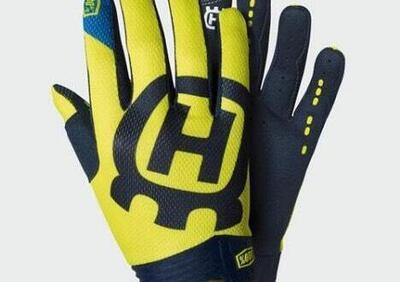 Kids Itrack Railed Gloves Husqvarna - Annuncio 8030765