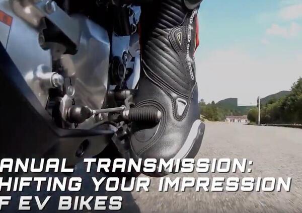 Kawasaki EV Endeavor, la moto elettrica col cambio