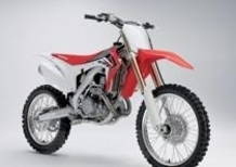Nuove Honda CRF450R e CRF250R 2013