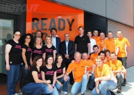 KTM Italia inaugura la nuova sede ad Albano S. Alessandro