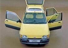 Ford Fiesta Urba: la 3 porte asimmetriche che nel 1989 anticipò la Veloster e la Mini Clubman