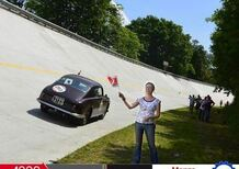 In pista sulla sopraelevata di Monza: con la Mille Miglia 2016
