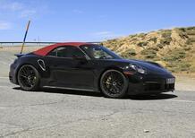 Porsche 911 Turbo Cabrio 2020: arriva anche la soft top [Foto spia]