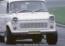 435 CV per il Ford Transit SUPERVAN del 1971. Commerciale di derivazione Ford GT40 (Le Mans)!