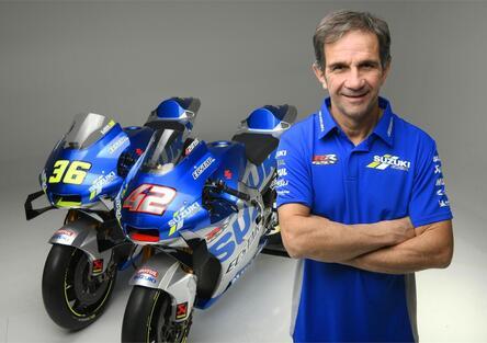 """MotoGP. Brivio: """"Due numeri uno in Suzuki"""""""