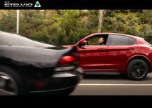 Super Kimi Raikkonen su Alfa Romeo Stelvio Quadrifoglio vs Dodge Viper... | Il nuovo spot 2020