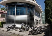 Nuova sede per Triumph Motorcycles Italia