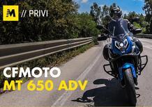 CFMOTO MT 650 ADV: la Crossover facile e versatile