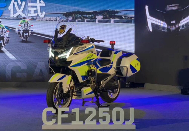 CF1250J, la maxi touring di CFMoto (con il V2 KTM) è pronta