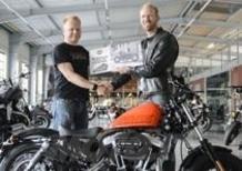 Gert Vanzier vince il concorso di design Art of Custom Harley-Davidson