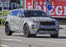 Land Rover Evoque: sarà anche 7 posti [Foto spia]