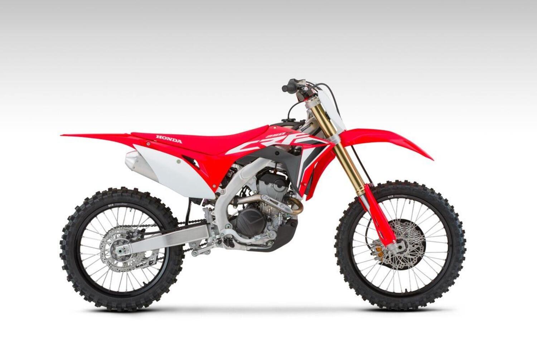 Honda gamma CRF 2021 motocross. Prime foto
