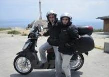 Tutto si può fare: da Barcellona a Fisterra in scooter