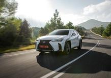 Lexus UX: linee taglienti e un look che spiazza [Video]