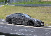BMW Serie 4 Gran Coupé: maxi griglia anche per la 4 porte [Foto spia]