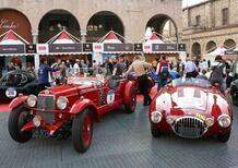 Mille Miglia 2016: vittoria di Vesco e Guerini su Alfa Romeo 6C Zagato del 1931