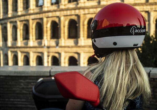 Scooter sharing elettrico Acciona anche a Roma