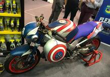 Le strane di Moto.it: Honda VFR 800 Captain America