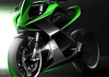 Kawasaki brevetta un 4 cilindri a due tempi sovralimentato