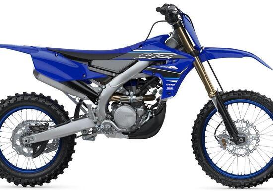 Yamaha presenta la gamma Motocross 2021