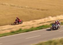 Honda Africa Twin 1100: Marco Aurelio Fontana protagonista del nuovo video