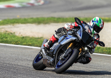 Yamaha YZF-R1, demo ride ai Metzeler Track Days