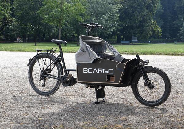 TEST - BCargo. La cargo eBike allitaliana