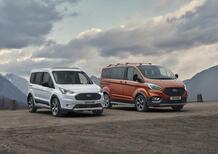 Ford Tourneo e Transit Connect: un tocco SUV con l'allestimento Active