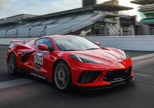 La Chevrolet Corvette 2020, rosso torcia, è la nuova Indy 500 Pace Car